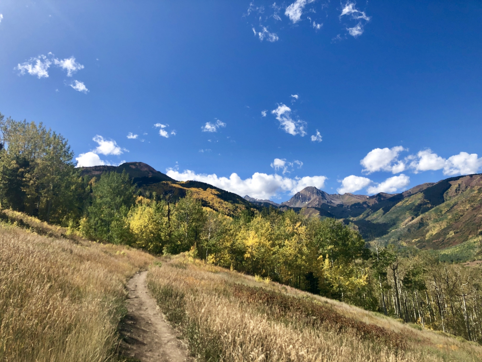 Snowmass Colorado autumn